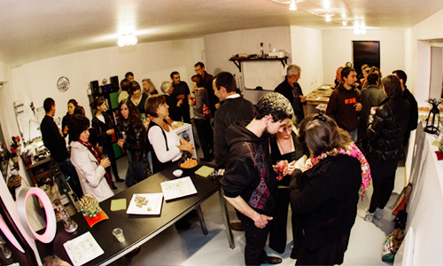 Inauguration de l'atelier