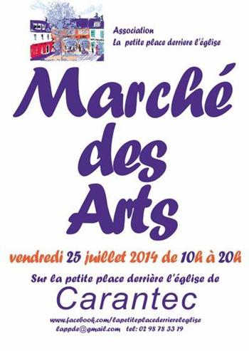 affiche_marche_arts_carantec