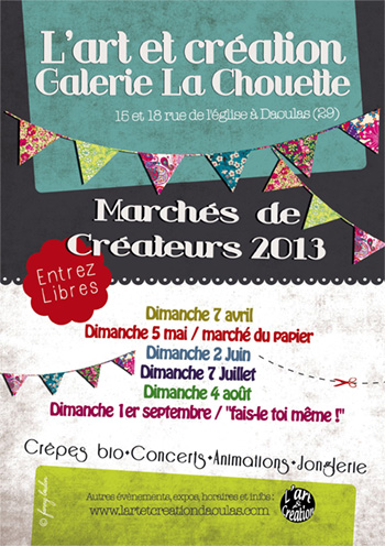 affiche_marche_art_creation_daoulas_2013