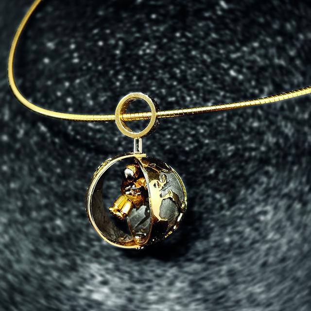 L'Astronaute collier