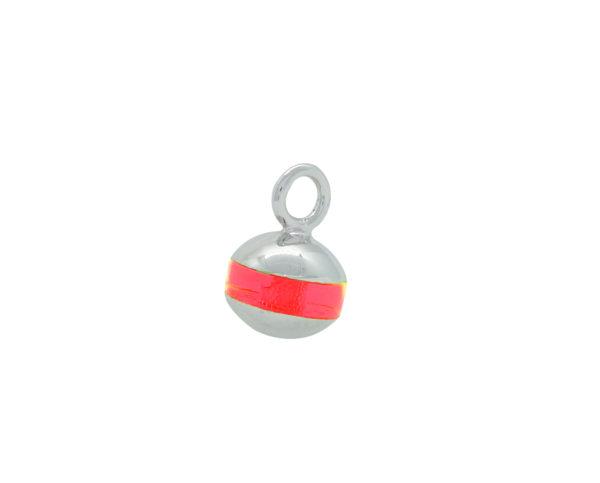 Pendentif bouée Bilou rose fluo