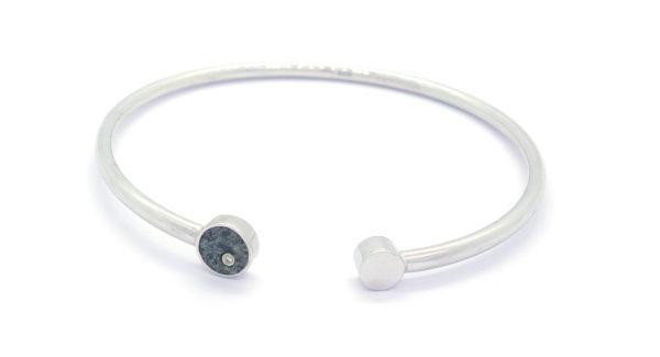 Bracelet coeur de kersanton + diamant