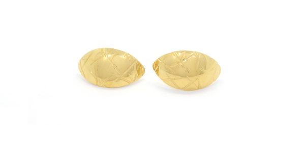 Caches lobes ciselés plaqué or
